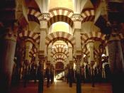 Mezquita, Córdoba, Spain. This mosque, known as