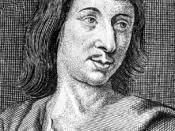 English: Image of the French dramatist Cyrano de Bergerac