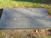 Headstone from grave of Ludwig Mies van der Rohe