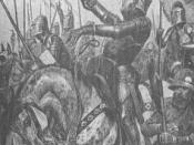 A 19th century artist's impression of Hotspur's death
