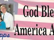 The Cupps God Bless America Again Banner 1