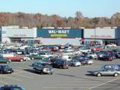 English: Exterior of a Wal-Mart Supercenter in Madison Heights, Virginia.
