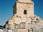 Cyrus's tomb lies in Pasargadae, Iran, a UNESCO World Heritage Site (2006).