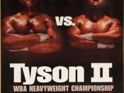 Poster publicizing the June 28, 1997, Holyfield–Tyson II fight, dubbed The Sound and The Fury