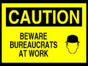 Bureaucrats at work