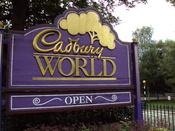 English: Sign outside Cadbury World, Bournville, Birmingham, England.