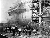 Isambard Kingdom Brunel turns to Richard Tangye to help launch the Great Eastern in 1858