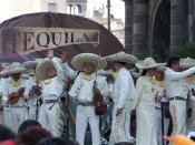 Mariachi en la ciudad de Guadalajara, Jalisco, México.