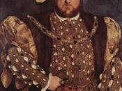 Henry VIII of England, who devised the Statute as a way of alleviating his financial problems.