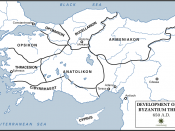 The establishment of the themes in the Byzantine Empire