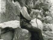 John Muir, American conservationist.