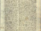 The oldest written account of Popol Vuh (ms c.1701 by Francisco Ximénez, O.P.)