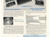 The MITS Altair 8800 computer was the first commercially successful home computer. Paul Allen and Bill Gates wrote Altair BASIC and started Microsoft. This advertisement appeared in Radio-Electronics, Popular Electronics and other magazines in August 1975