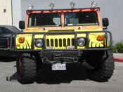 A Hummer H1 owned by Outback Steakhouse in San Mateo, California.