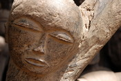 Picture of an african mask taken 2007 in Ouagadougou, Burkina Faso