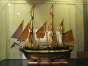 English: Model of the HMS Discovery (1789) at the Vancouver Maritime Museum. Français : Maquette du HMS Discovery (1789) photographié dans le Musée maritime de Vancouver.