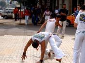 Capoeira dance.