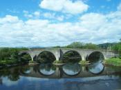 Stirling Bridge. (Stirling, Scotland). Photo taken by Davidmeisner