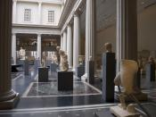 A view of new Roman Gallery in the Metropolitan Museum of Art.
