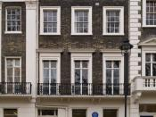 English: 46 Gordon Square, London (United Kingdom). The economist John Maynard Keynes (1883-1946) lived here from 1916 to 1946. Français : 46 Gordon Square, Londres (Royaume-Uni). L'économiste John Maynard Keynes (1883-1946) y vécut de 1916 à 1946.