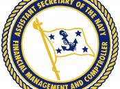 English: Seal of the U.S. Assistant Secretary of the Navy (Financial Management)