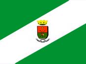 English: Flag of Dom Pedrito, Rio Grande do Sul, Brazil Português: Bandeira de Dom Pedrito, Rio Grande do Sul, Brasil