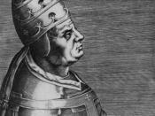 Urbanus VI, Pope. Grabado del Siglo XVII.