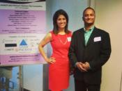 Great to be with Monika Samtani @Monikaon9 at @launchnetworkdc's #smallbiz business plan competition