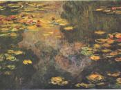 English: Waterlilies Deutsch: Seerosen
