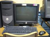 English: Dell desktop computer with a Intel Inside Pentium 4 Processor and Windows XP Professional as the operating system.