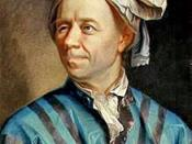 Leonhard Euler is widely considered one of the greatest mathematicians.