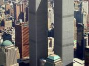 English: World Trade Center, New York, aerial view March 2001. Français : Le World Trade Center à New York. Vue aérienne datant de mars 2001.