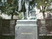 In 1938 the Bach statue, minus its original pedestal, was moved to the Frauenplan.