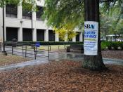 English: Sandy Springs, GA, October 23, 2009 -- The Small Business Administration Business Recovery Center is open in the North Fulton County Government Building. Business owners and non-profit organizations impacted by September severe storms and floodin