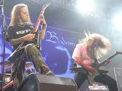Music band Children of Bodom during Masters of Rock 2007 festival