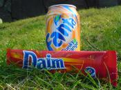 Daim and fanta