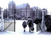 English: Early origins photo of the boarding school.