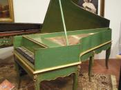 English: Grand piano by Louis Bas of Villeneuve-lès-Avignon, France, 1781.