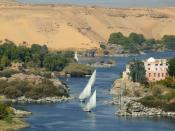English: The Nile River in Egypt.