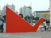 English: Urban art interactive installation