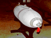 An MC-1 gas bomb