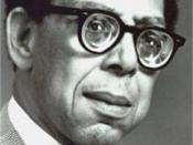 The image of American playwright Robert Hayden (1888-1959)