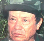 English: Manuel Marulanda, picture work of the US Department of State http://www.state.gov/p/inl/narc/rewards/63840.htm.