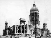 San Francisco, California, Earthquake April 18, 1906. City Hall. April 20, 1906.