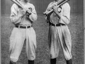 Ty Cobb (297 triples) and Shoeless Joe Jackson (168 triples)