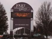 English: Sign of Joliet Junior College Main Campus, Joliet Category:Images of Joliet Category:School images