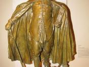 A copy of the larger sculpture by Augustus Saint-Gaudens. Slightly different from the one in Springfield.