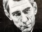 Claude Shannon, painted portrait - la théorie de l'information _1010155