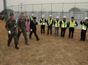 Groundbreaking for Operations and Aircraft Maintenance Unit Facility