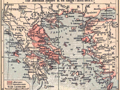 Map showing the southern Balkans and western Asia Minor
